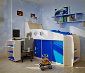 Кровать детская комплекс универсальный