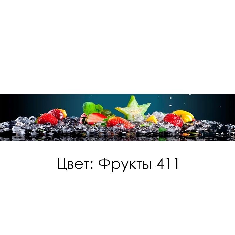 КУХОННЫЙ ФАРТУК «ФРУКТЫ» (411), (ХДФ, АБС)