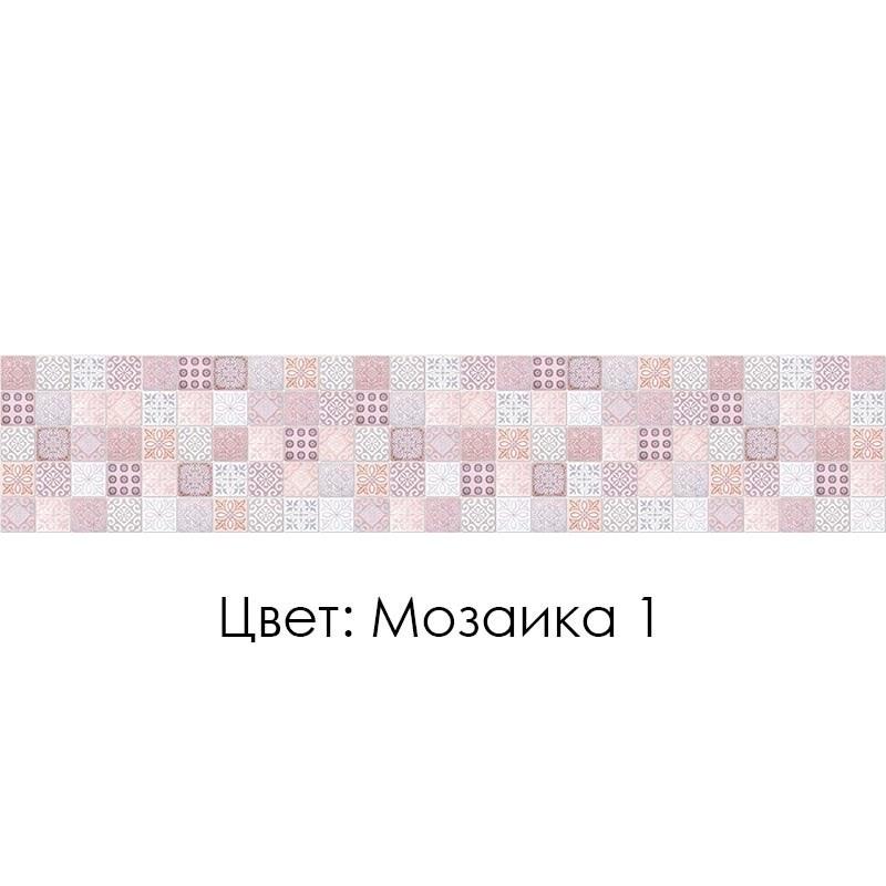 КУХОННЫЙ ФАРТУК «МОЗАИКА» (1), (ХДФ, АБС)
