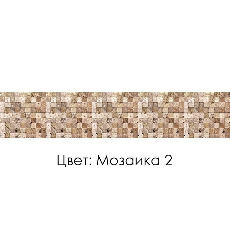 КУХОННЫЙ ФАРТУК «МОЗАИКА» (2), (ХДФ, АБС)