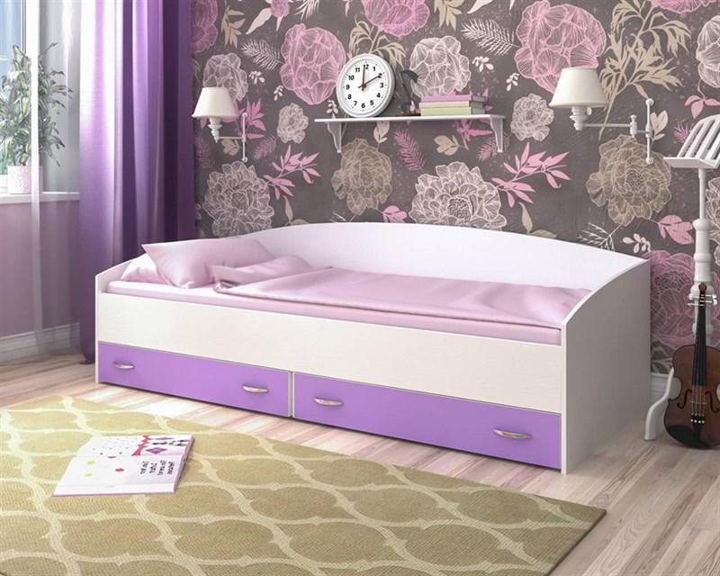 Кровать с выкатными ящиками - фото 12159