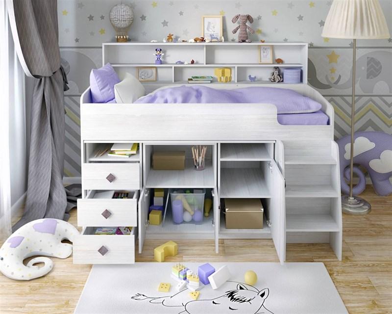 """Кровать чердак """"Малыш-5"""" - фото 12175"""