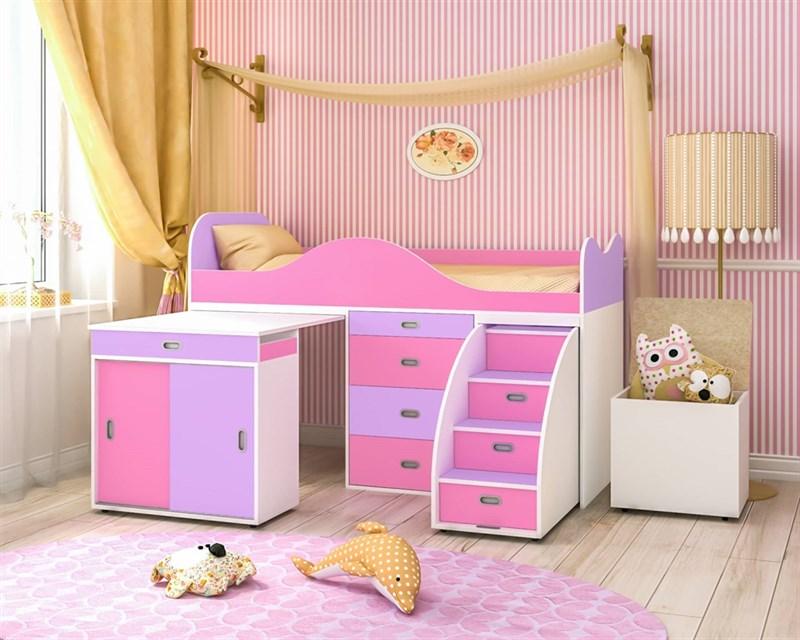 """Кровать чердак """"Малыш люкс"""" - фото 12204"""