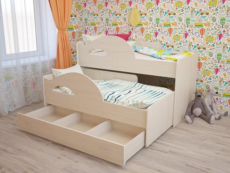 """Детская кровать """"Радуга 1600"""" - фото 12416"""