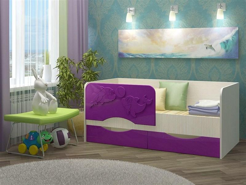 """Детская кровать """"Алена №2"""" 1,6 м., 2 ящика - фото 12581"""