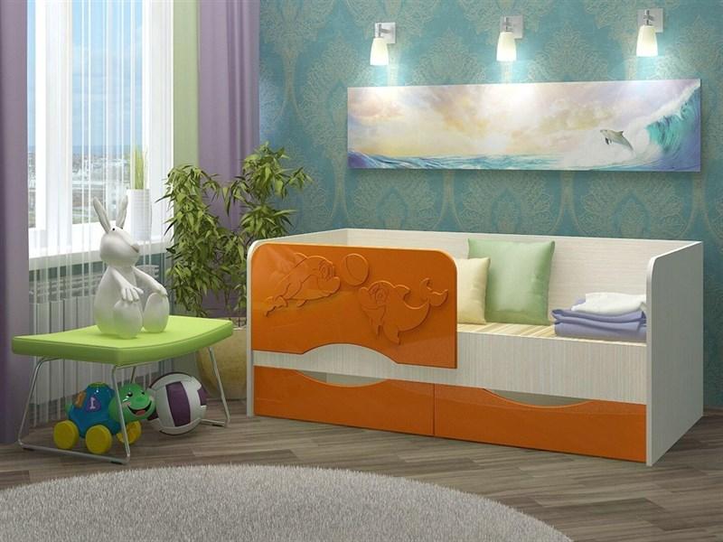 """Детская кровать """"Алена №2"""" 1,8 м., 2 ящика - фото 12596"""