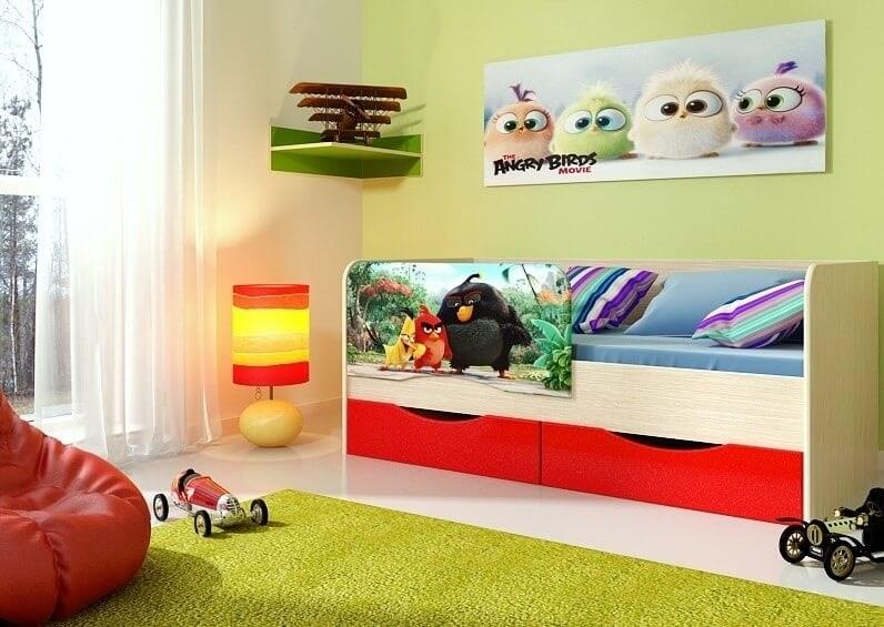 """Детская кровать """"Энгри"""" 1,8 м - фото 12635"""