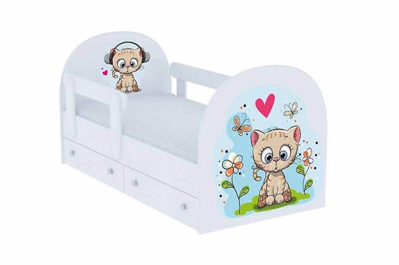 """Детская кровать """"Котенок"""" - фото 12724"""
