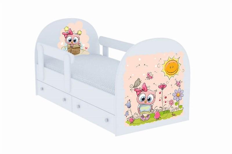 """Детская кровать """"Совенок"""" - фото 12728"""