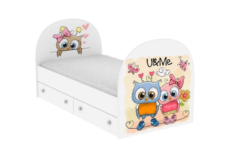 """Детская кровать """"Совушки"""" - фото 12730"""