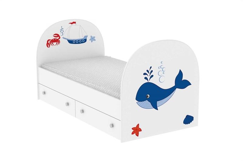 """Детская кровать """"Кит"""" - фото 12750"""