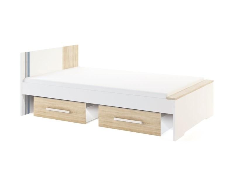 """Кровать большая 1,2 без выкатной кровати/ящика """"Лион"""" модуль 4 - фото 12897"""