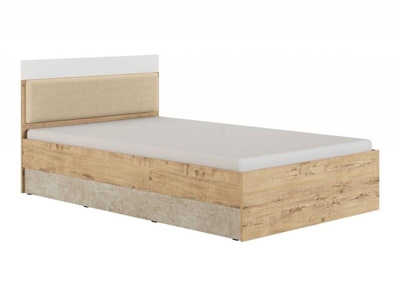 "Кровать 1,2 ""Дублин Стоун"" модуль 2 - фото 13278"