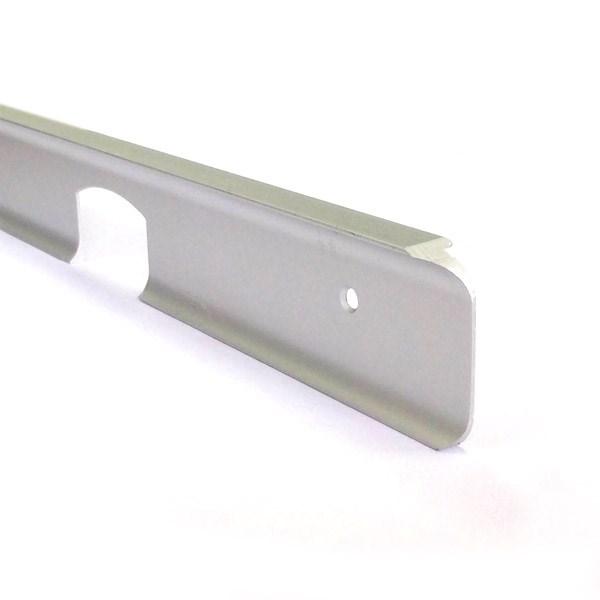Планка соединительная угловая матовая 28 мм. - фото 14298