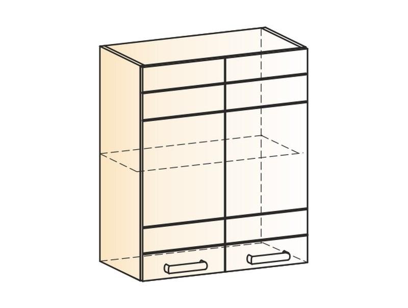 """Шкаф навесной L600 Н720 (2 дв. гл.) """"Мечта"""""""