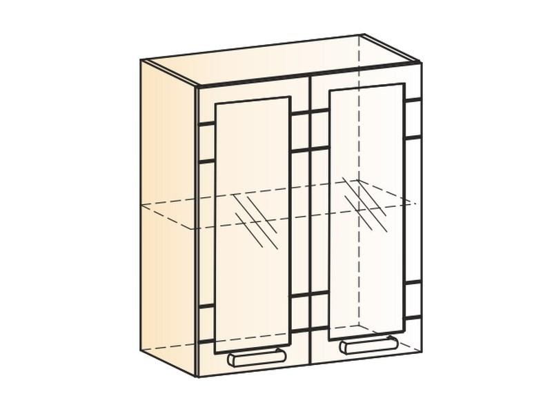 "Шкаф навесной L600 Н720 (2 дв. рам.) ""Мечта"""