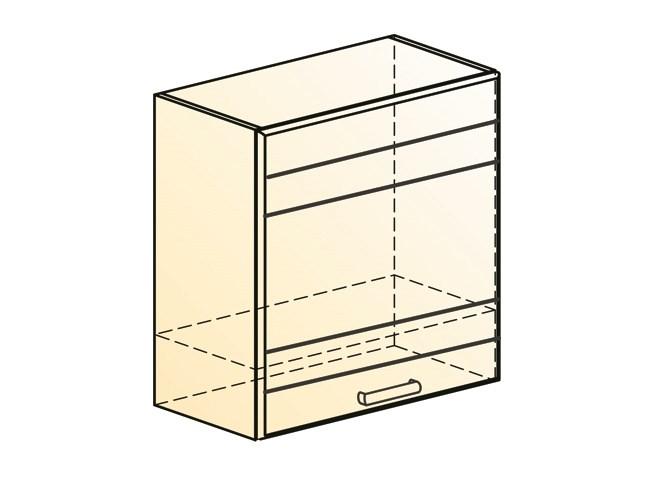 """Шкаф навесной под вытяжку L600 Н566 (1 дв. гл.) """"Мечта"""""""