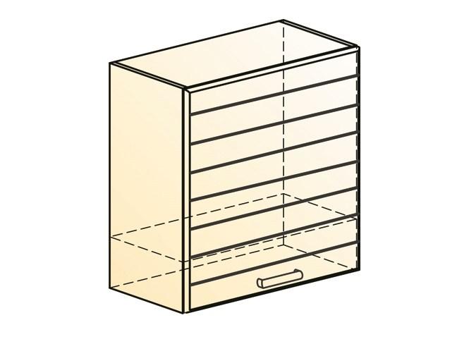 """Шкаф навесной под вытяжку L600 Н566 (1 дв. гл.) """"Виктория"""""""