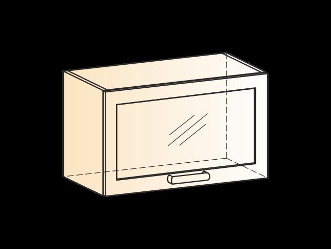 """Шкаф навесной L600 Н360 (1 дв. рам.) """"Яна"""""""