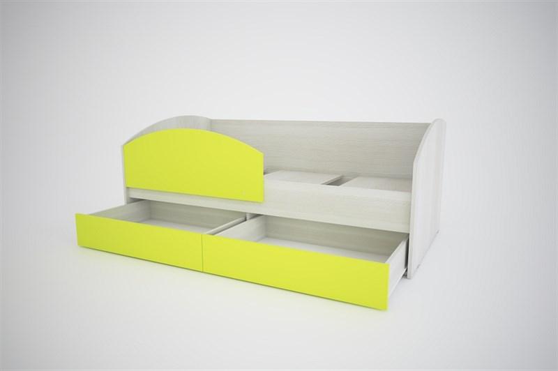"""Кровать-диван 1 """"Вита"""" (Лайм)"""