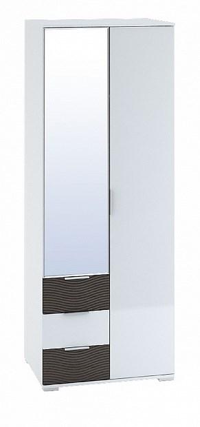 """Шкаф 2-створчатый с ящиками 800 """"Терра"""" ШК-822 - фото 15223"""