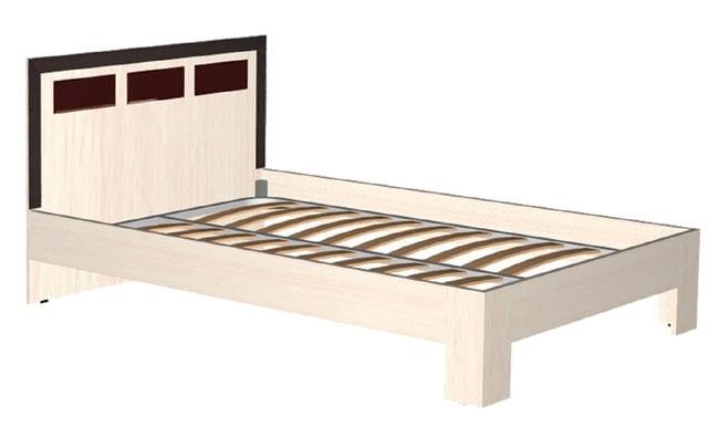 """Кровать 2-х спальная 1200 """"Венеция"""""""