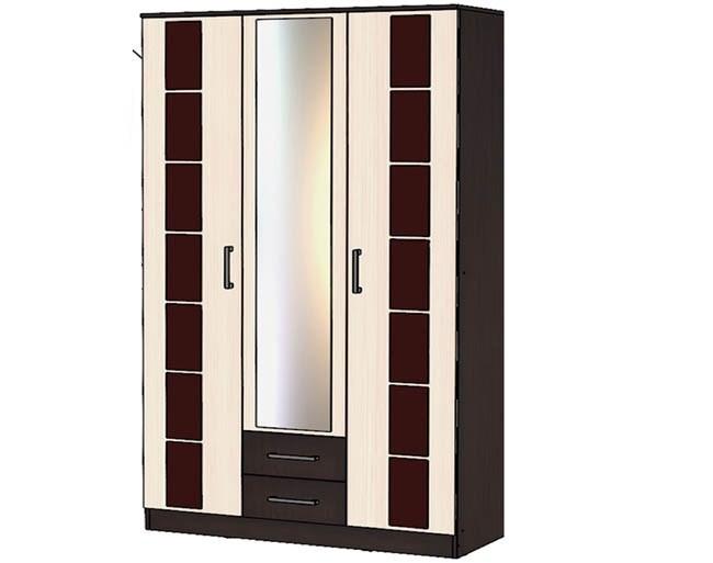"""Шкаф 3-х створчатый 1,4 м. """"Венеция"""""""