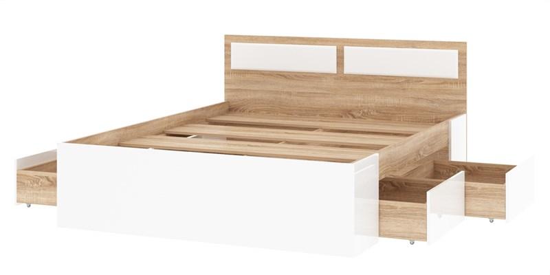 """Кровать 1600 4-ящика """"Беатрис"""""""