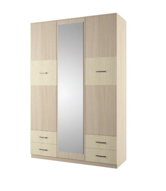 """Шкаф 3-х створчатый с ящиками """"Гардения"""""""