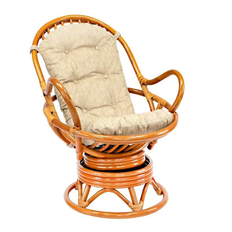 "Кресло-качалка с подушкой ""LESET Swivel Rocker"""