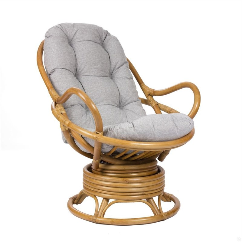 "Кресло-качалка с подушкой MI-002 ""SWIVEL ROCKER"""