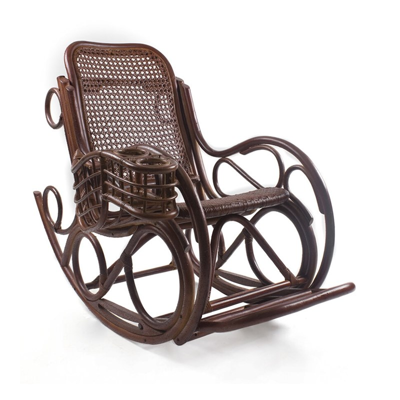 "Кресло-качалка с подушкой ""Coral novo lux"""