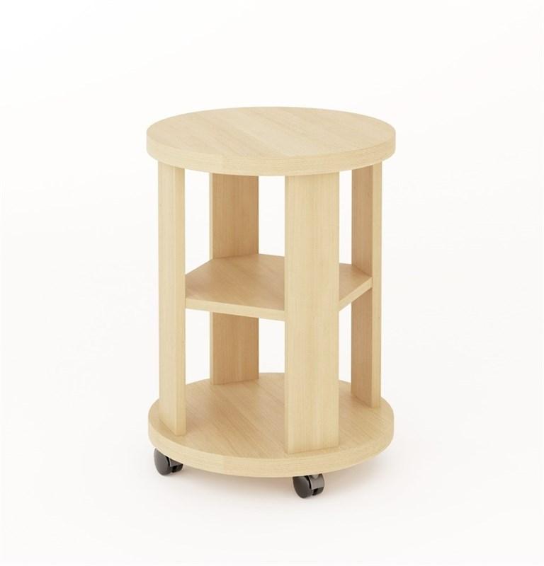 Столик кофейный беленый дуб