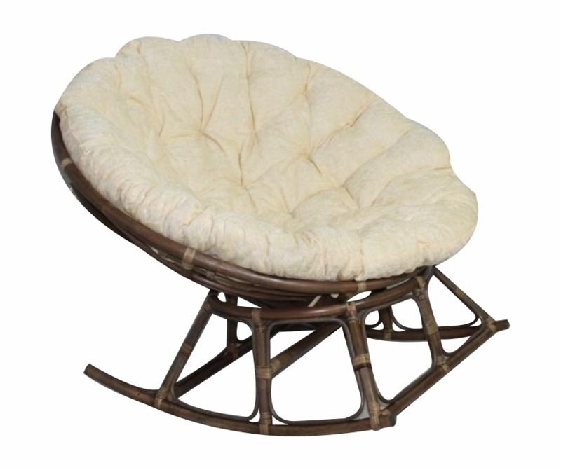 """Кресло-качалка с подушкой """"Papasan ROCKING"""" - фото 21400"""