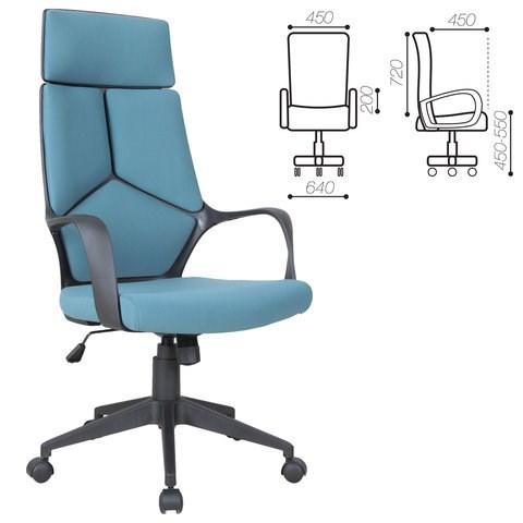 Кресло офисное BRABIX PREMIUM Prime EX-515, ткань, голубое, 531568 - фото 21577