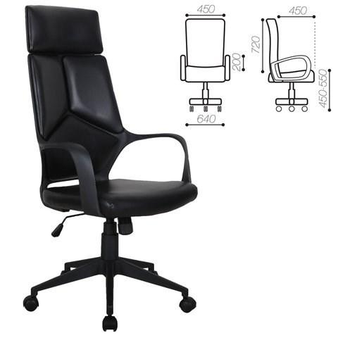 Кресло офисное BRABIX PREMIUM Prime EX-515, экокожа, черное, 531569 - фото 21578
