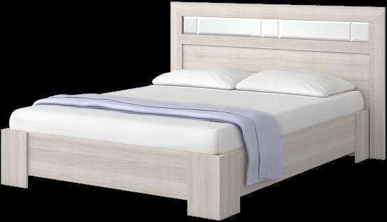 """Кровать 1600 с зеркалами """"Роксана"""""""
