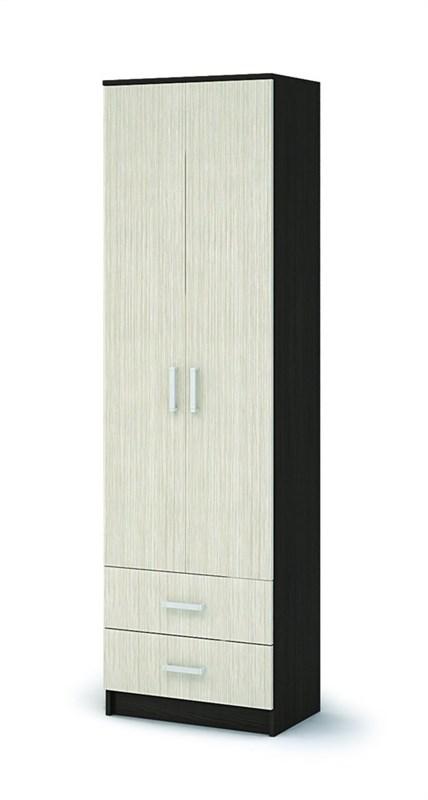 прихожая МАШЕНЬКА шкаф с полками и ящиками (600х2020х380) ШК 201 - фото 21838