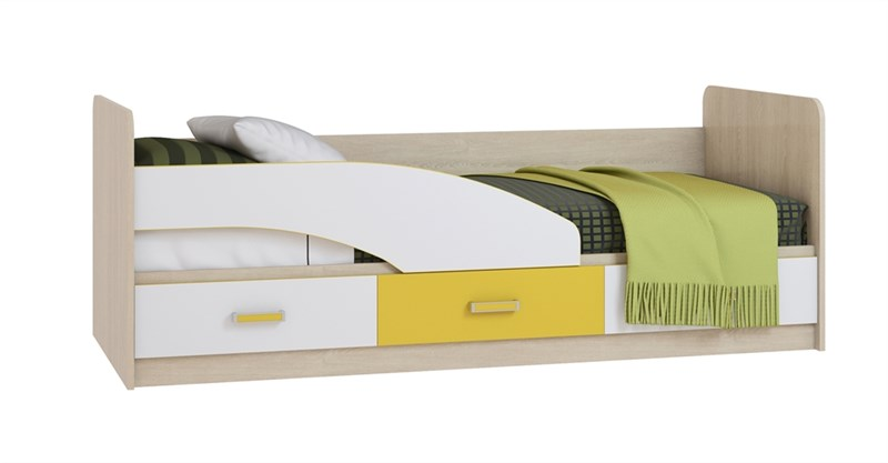 """Кровать (800) с жёстким основанием """"Фантазия"""""""