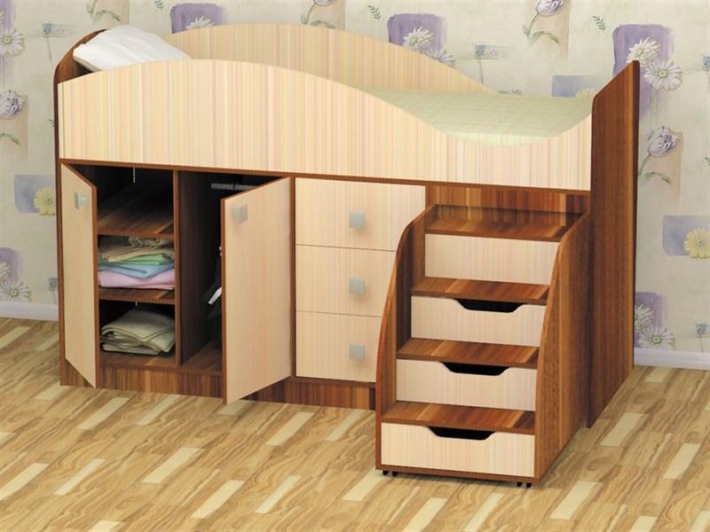"""Кровать детская """"Стрелка"""" - фото 22828"""