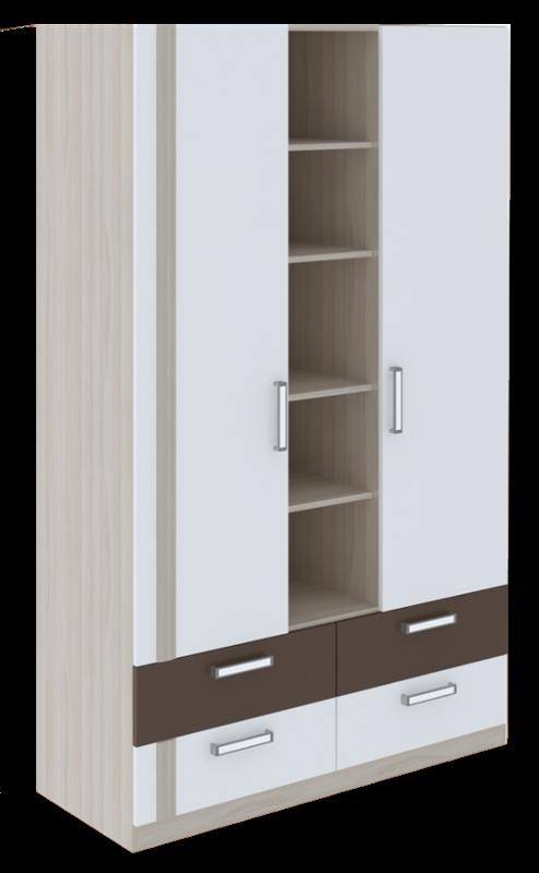 Шкаф трехсекционный Walker М2
