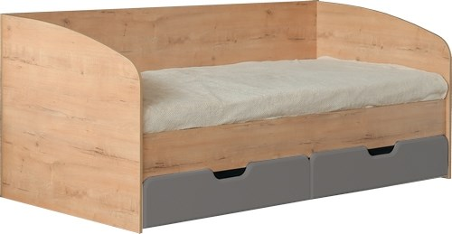 """Кровать с ящиками 800*2000 М14 """"Скай"""" - фото 23858"""
