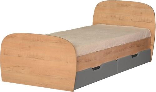 """Кровать с ящиками 800*2000 М13 """"Скай"""" - фото 23874"""