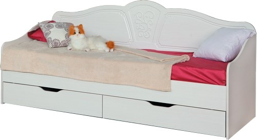 """Кровать с ящиками №4 800*2000 """"Тиффани"""" - фото 23990"""