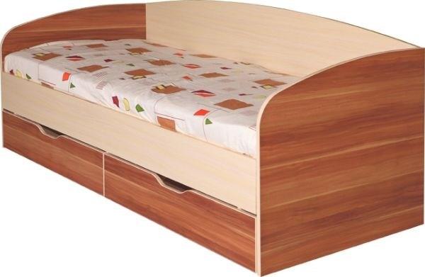 """М16 Кровать с ящиками 800*2000 """"Евро"""" - фото 24094"""