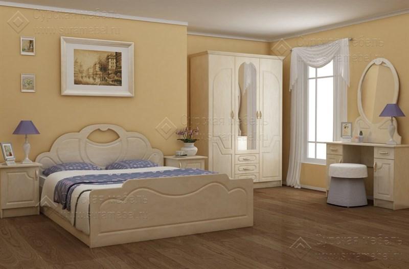 Спальня «Гармония» 1.6 м