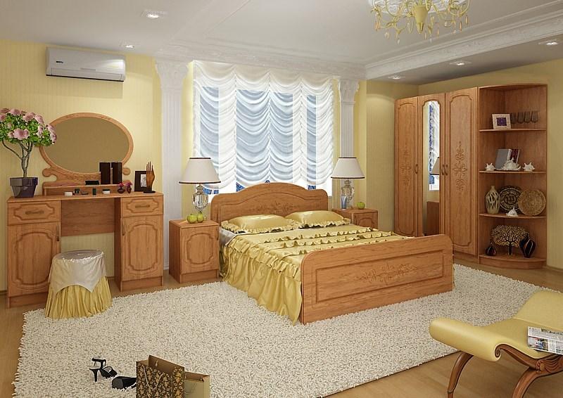Спальня «Фиеста» комплектация 2