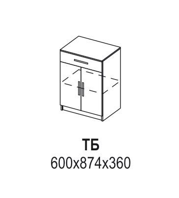 Тумба «Ника» ТБ (схема)