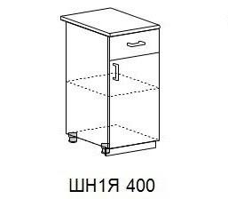 """""""Валерия-М"""" ШН1Я 400 Шкаф нижний однодверный - фото 4880"""