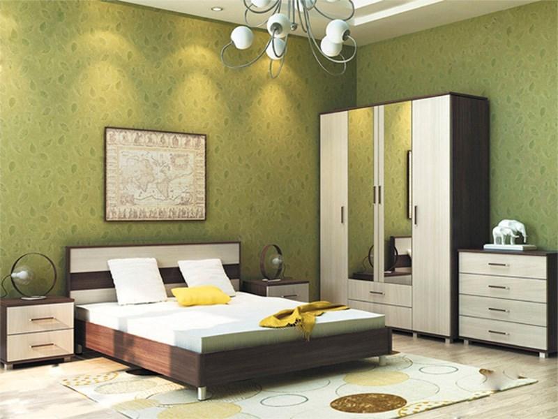 """Спальня """"Флоренция"""" комплектация 1 - фото 5502"""